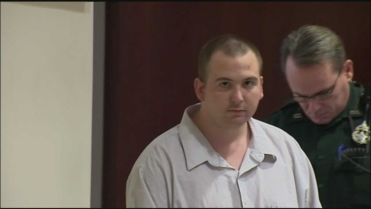 A man stands trial in Daytona Beach over the rape of a baby.