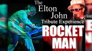 Elton John Tribute: The Rocket Man's music will be performed live at Daytona Beach's Bandshell on Saturday night at 7 p.m. The concert is free and a fireworks show follows.