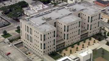 The Federal Courthouse is located in downtown Orlando.