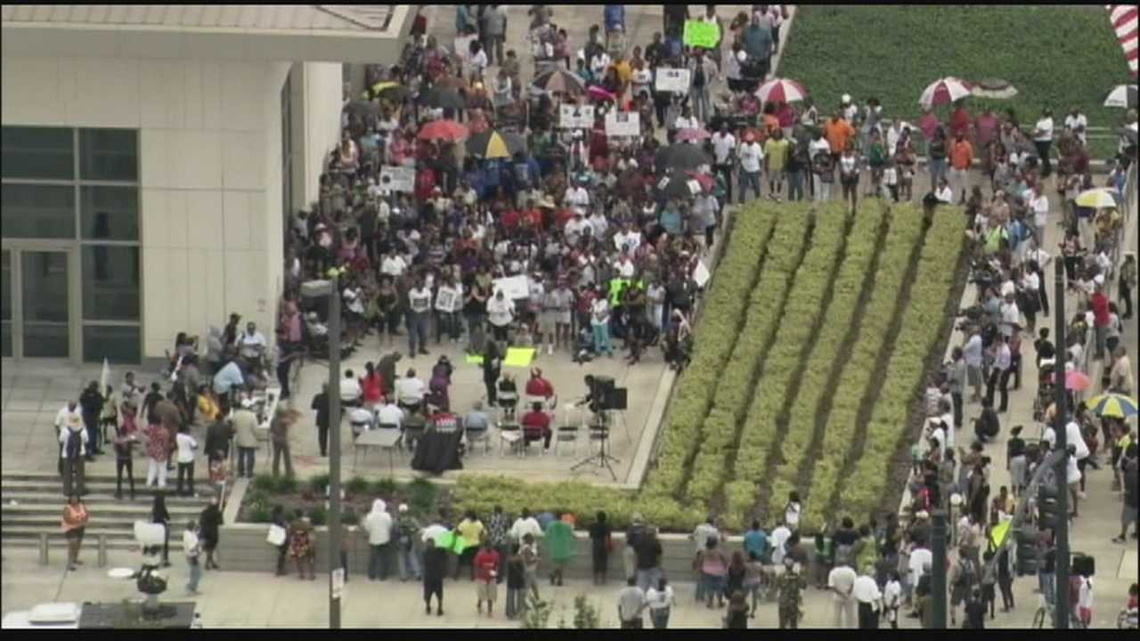 Many Floridians took part in a statewide day of prayer Sunday.