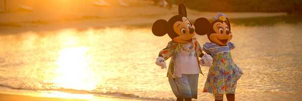 """""""Oh, Mickey. Isn't it wonderful?"""" is how Tracy captioned this picture."""