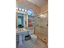 Conjoined bathroom