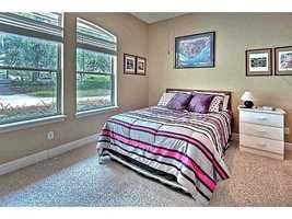 Second ground floor bedroom suite.