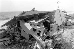 1985: Hurricane Elena caused massive amounts of damage. The name was retired.