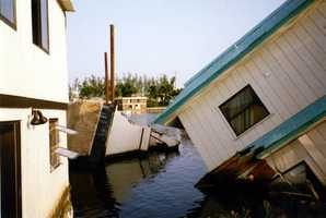 1992: Hurricane Andrew washed ashore as a category 5.