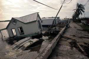 1998: Hurricane Georges was a category 2 storm and caused $2,765,000,000 in damage.