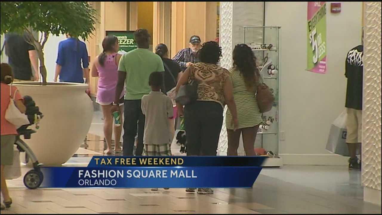 Tax-free shopping weekend