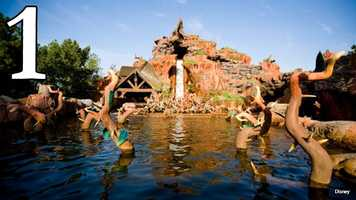 Splash Mountain: If you're overheated, there's no better place for a quick cool-down than the ride that gives guests a soaking.