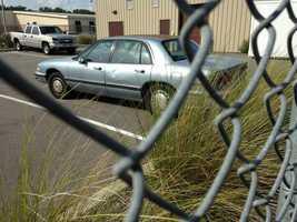 Victim's car