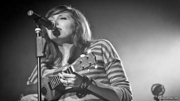 Francesca Battistelli performs on the Cinderella Castle Forecourt Stage at 9:30 p.m. on Sept. 7.