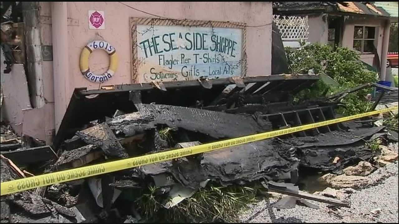 Flagler Beach's popular Seaside Shoppe lost in fire