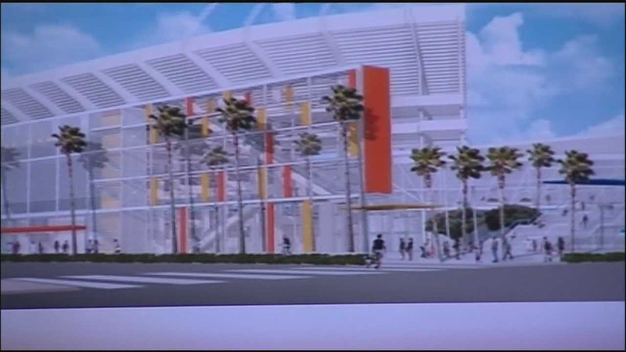 Residents get look at Citrus Bowl renovation plans