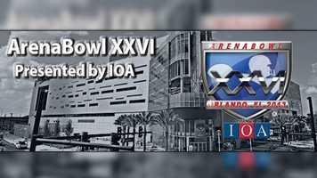 ArenaBowl XXVI: Arizona and Philadelphia meet Saturday at Orlando's Amway Center for the Arena Football League championship.