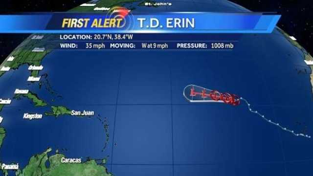 Tropical Depression Erin
