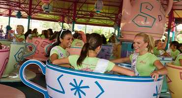 To watch a great video of the fun visit, go to the Disney Parks YouTube channel.