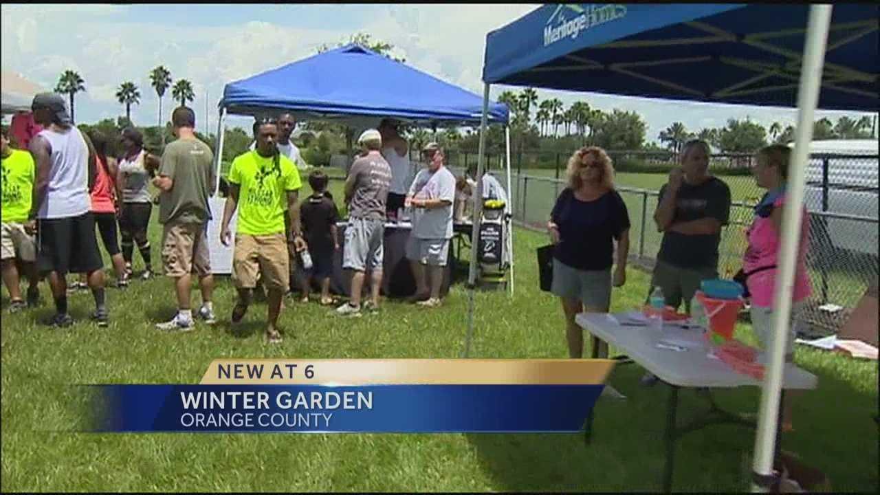 Winter Garden fundraiser held to help family of shooting victim