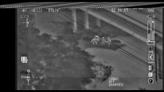 Raw Video: SCSO helicopter locates missing boaters