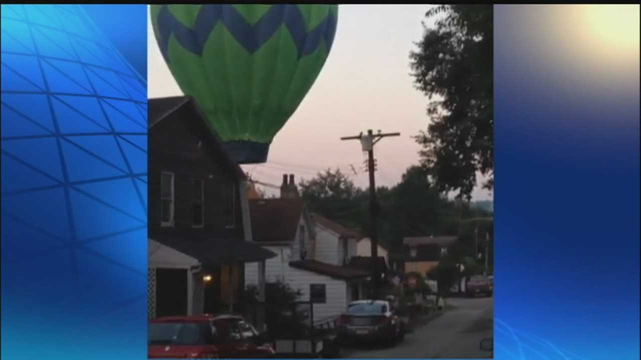 img-Neighbors watch as hot-air balloon makes surprise landing in North Versailles