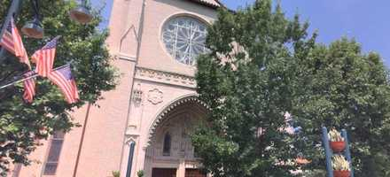 The Cathedral of St. Luke sits at 130 North Magnolia Avenue.