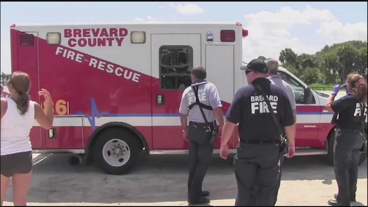 Ambulance at water crash scene.jpg