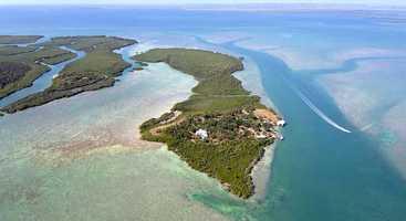 1. Broad Key Island, Key Largo: $20,000,000