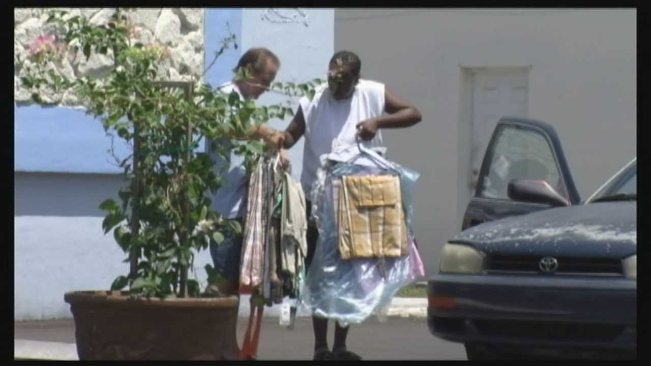 Some residents who were evicted from a Brevard County apartment complex said they have no place to go.