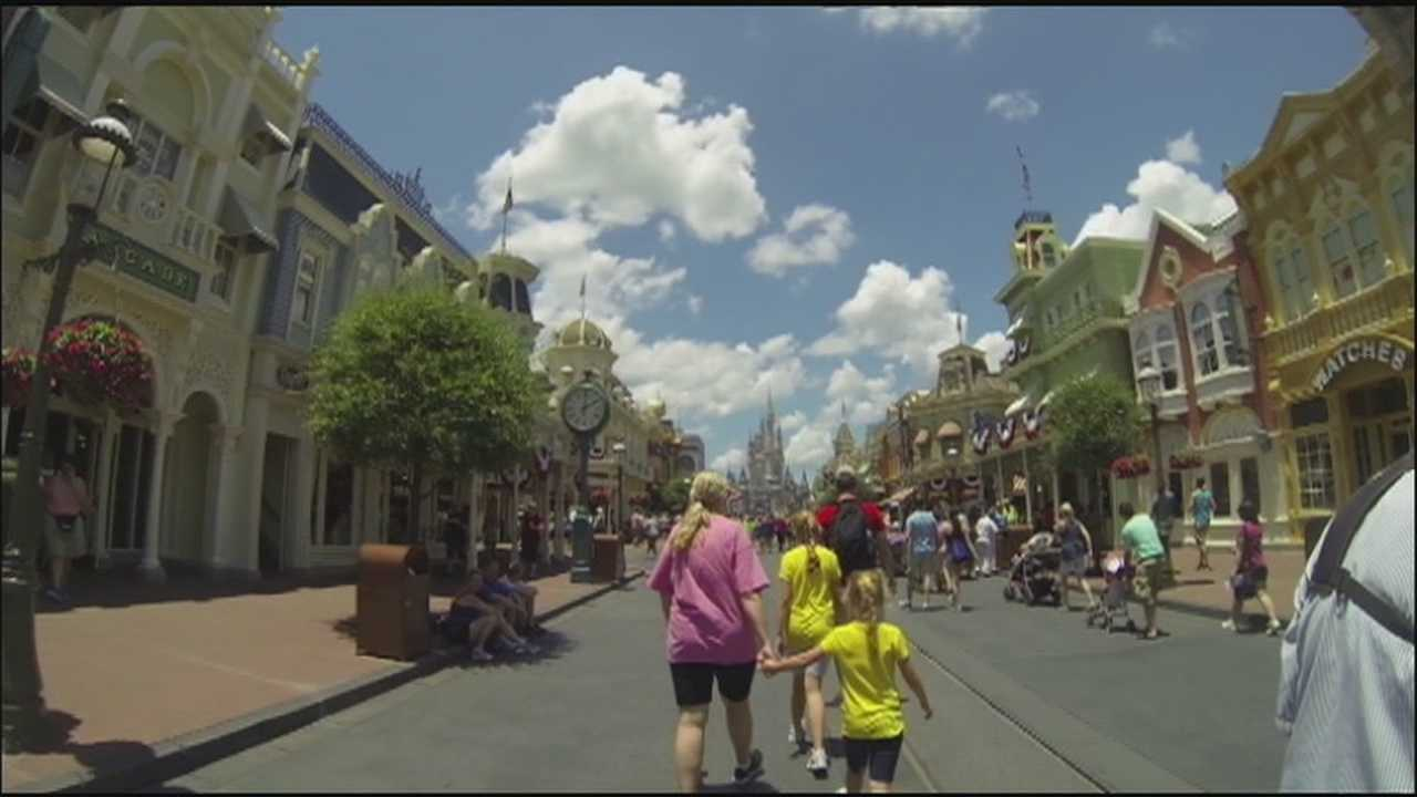 Weapons are prohibited at all Orlando-area theme parks, but one security expert tells WESH 2 Investigates that more could be done to keep the attractions safe.