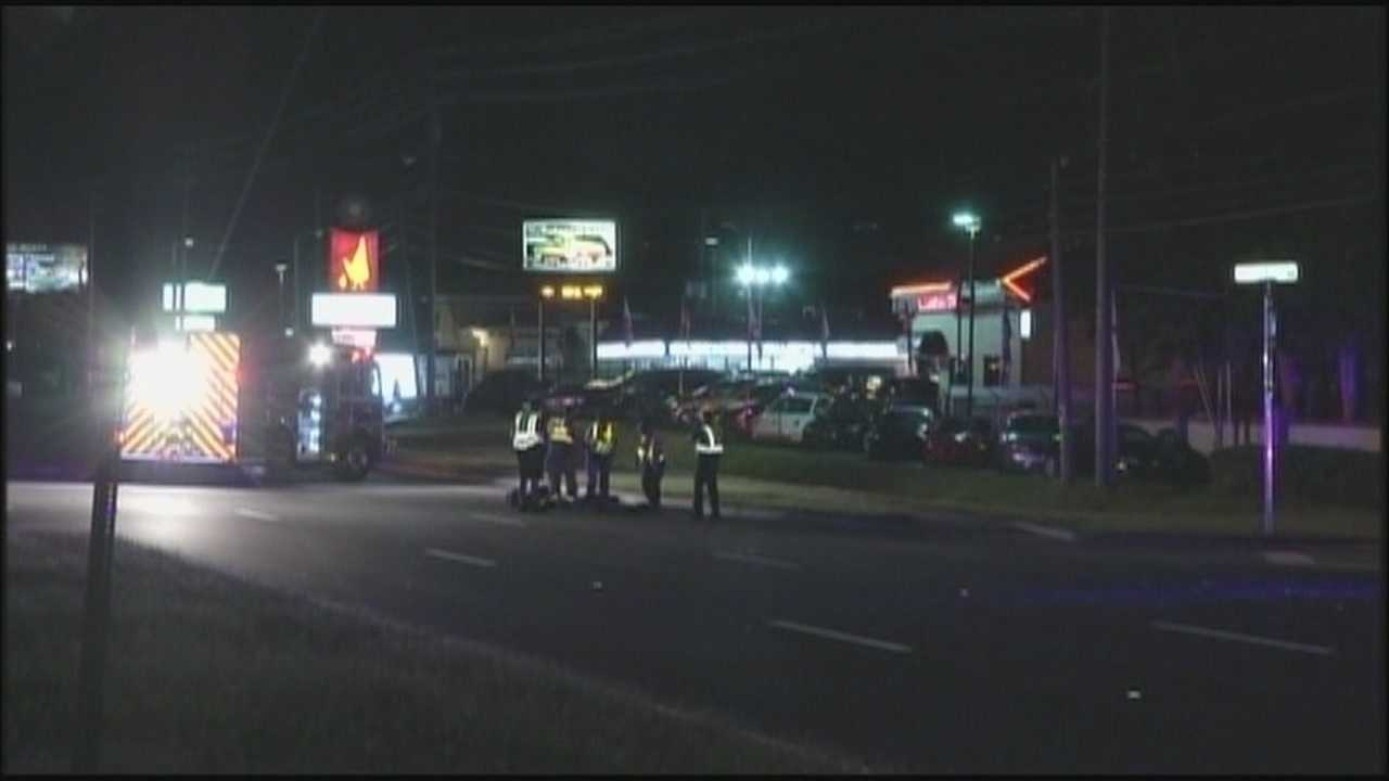 A pedestrian was killed Monday night while walking along East Colonial Drive in Orange County.