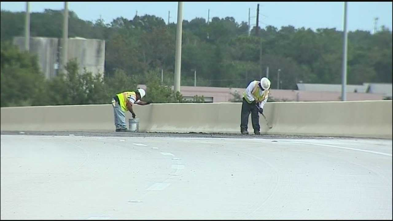 A new flyover is expected to open as early as Monday, alleviating traffic from the intersection of John Young Parkway and SR 441.