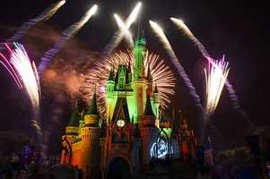 """6. Don't miss """"Happy HalloWishes"""" fireworks - It takes place at 9:30 p.m."""