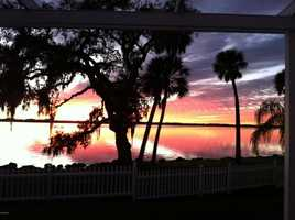 And the sunsets are simply breathtaking...If you want more information about this mansion, visit Realtor.com.