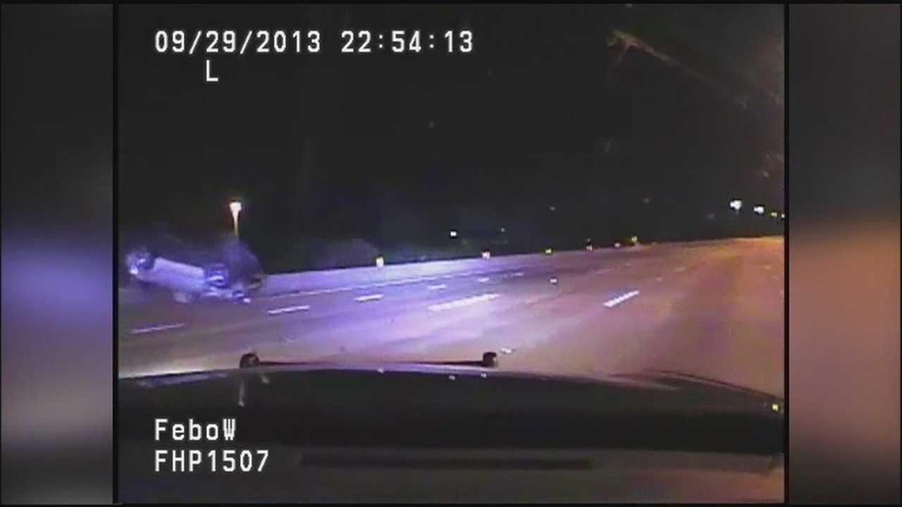 DUI takedown Turnpike as driver tries to flee