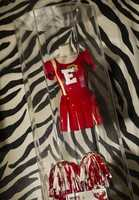 "This cheerleader outfit was part of ""High School Musical 3: Senior Year."""