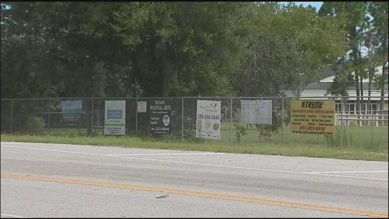 Schools trying to raise money by hanging signs off of fences are in violation of a city's rules.