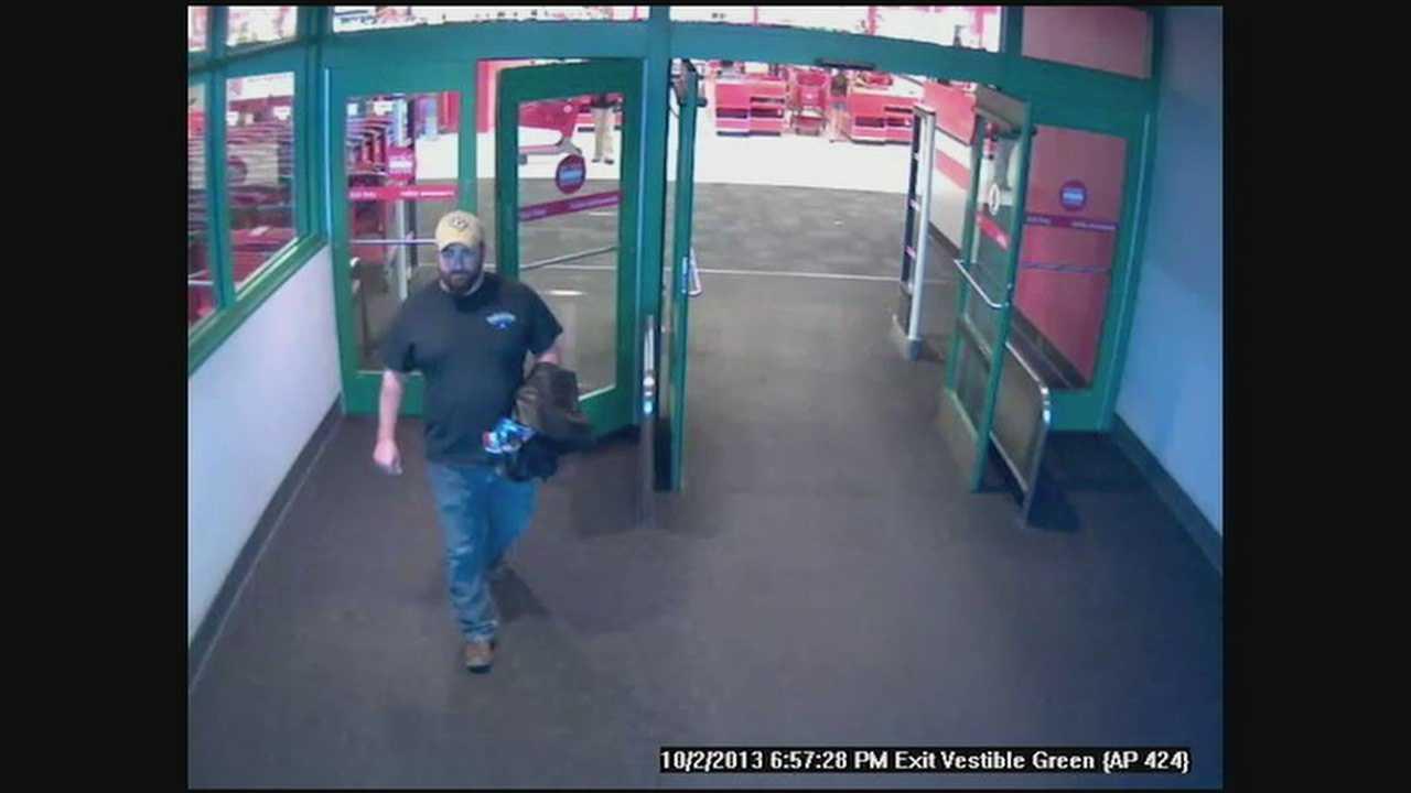 Target store video voyeur sought
