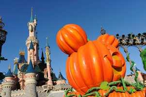 Seasonal decor is featured throughout the park during the celebration.