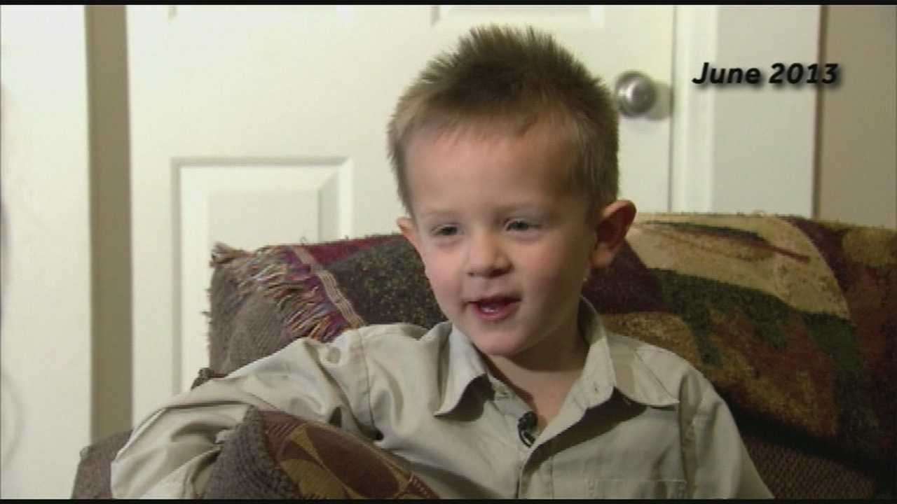Four-year-old Kessler donated his healthy marrow to help cure his 2-year-old sister Smantha's rare blood disorder.