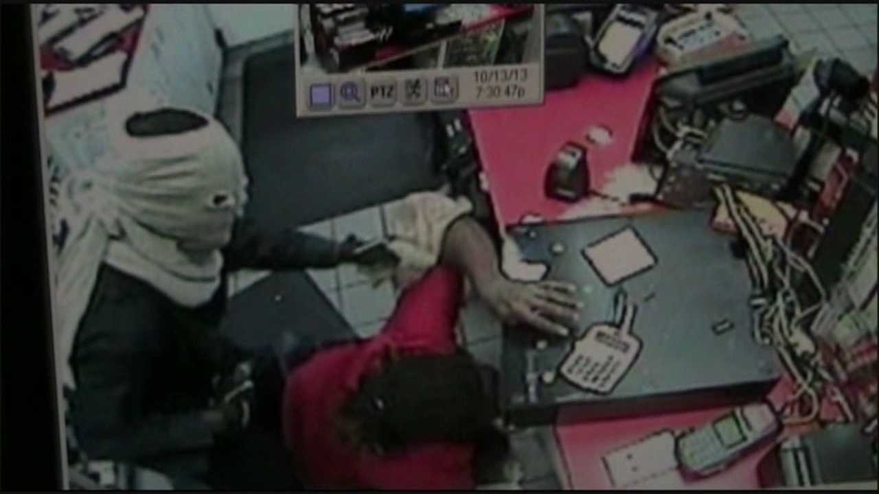 Officials in Orange County are looking for the robber who terrorized a Circle K store clerk.