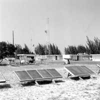 Solar energy at the Space Center in 1977.