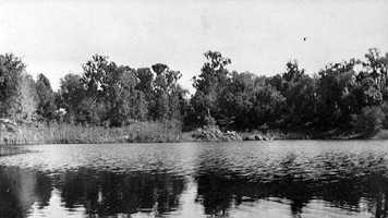 The Alacha sinkhole near Gainesville in 1908.