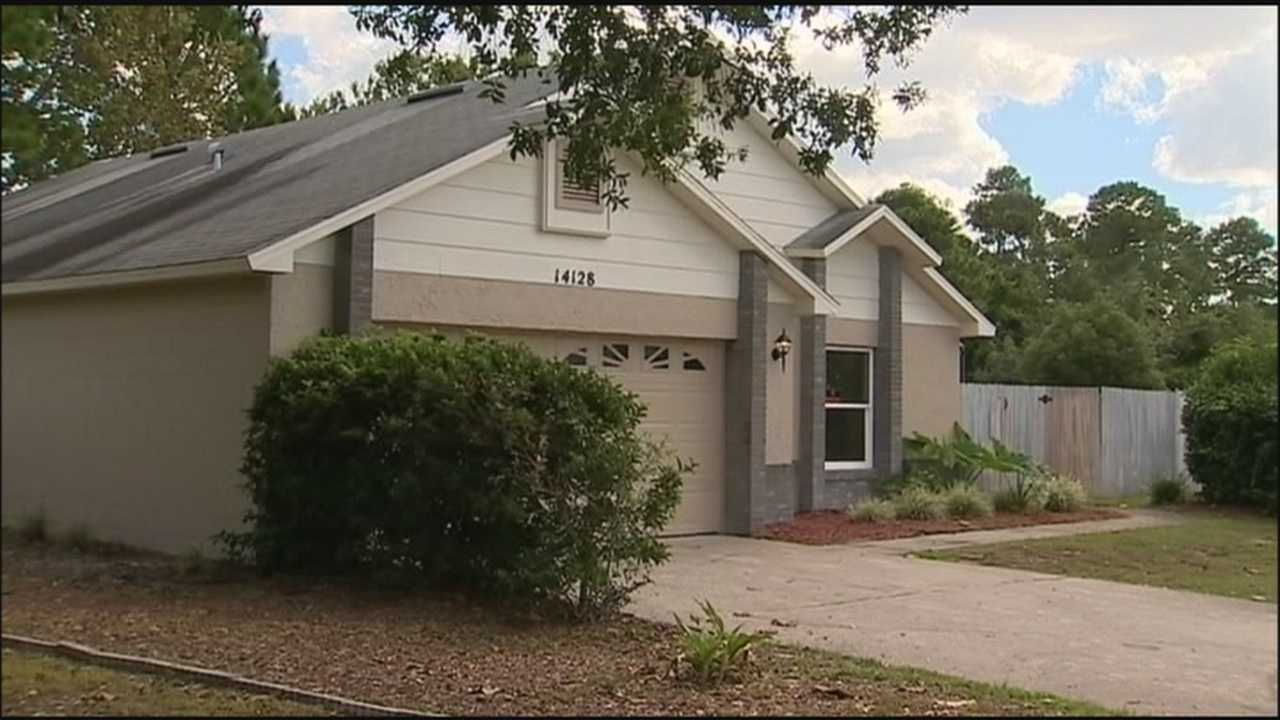 People living inside man's new home