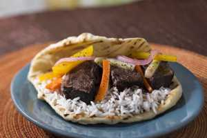 Four food trucks will be arriving at Downtown Disney in early November to serve up some more food option for visitors Wednesday through Sunday, including this beef short ribs with naan. Click through to see some of the other options, and read more here.