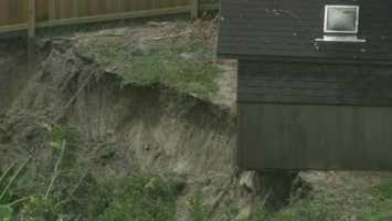This 2013 sinkhole in Winter Park threatened homes.