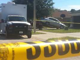 Oct. 25 (2:42 p.m.) - Toledo's vehicle is towed from the home.