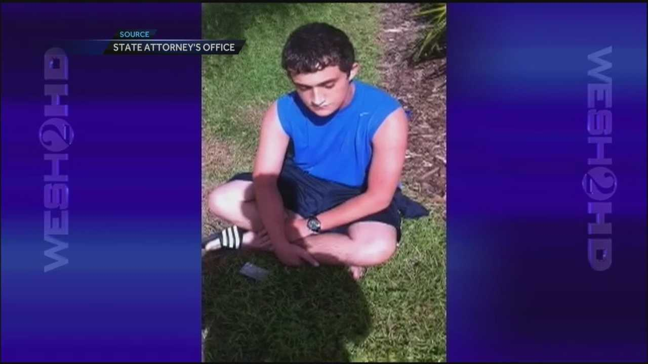 Newly released video shows an Orange County teen admitting he's high just minutes after he ran over and killed an Avalon Park cyclist and father.