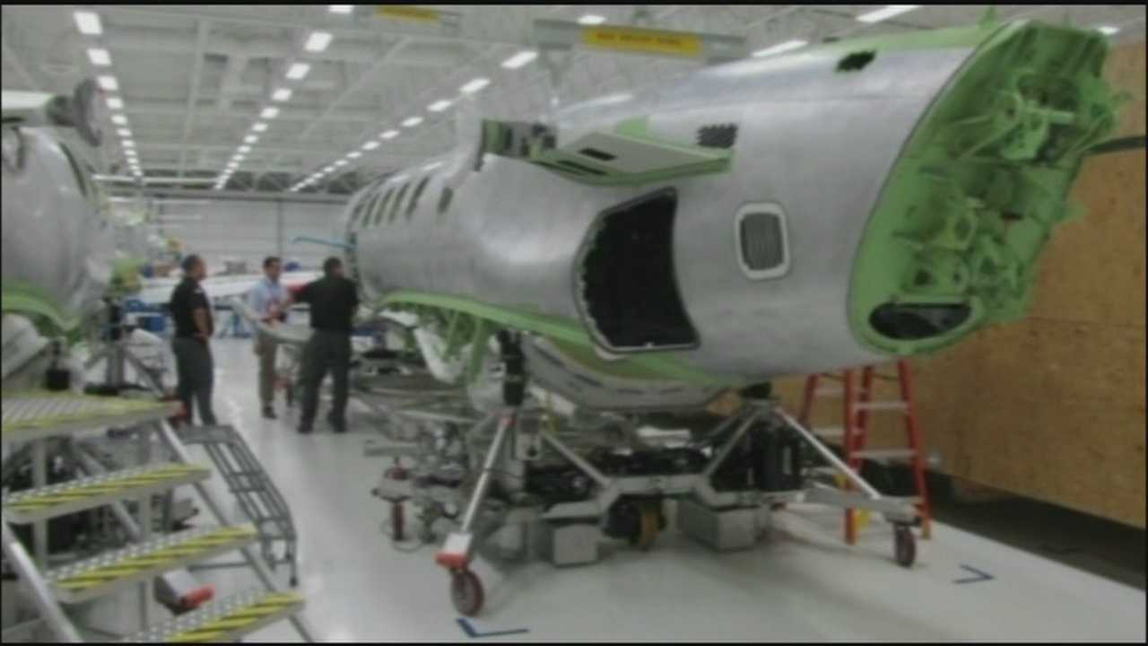 The world's fourth largest aircraft manufacturer has announced a major expansion in Melbourne. Embraer will bring 600 jobs to the area.