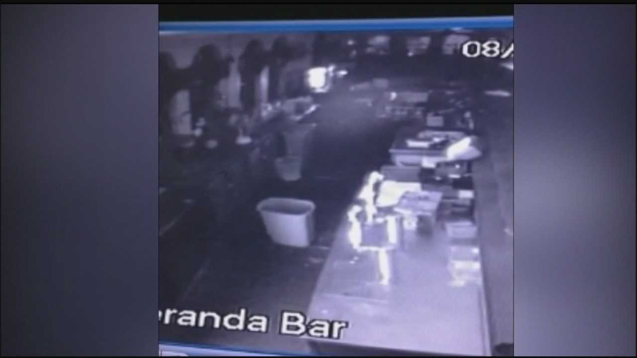 Possible apparition caught on surveillance camera at hotel