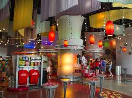Inside look into Flavors of Club Cool at Epcot.