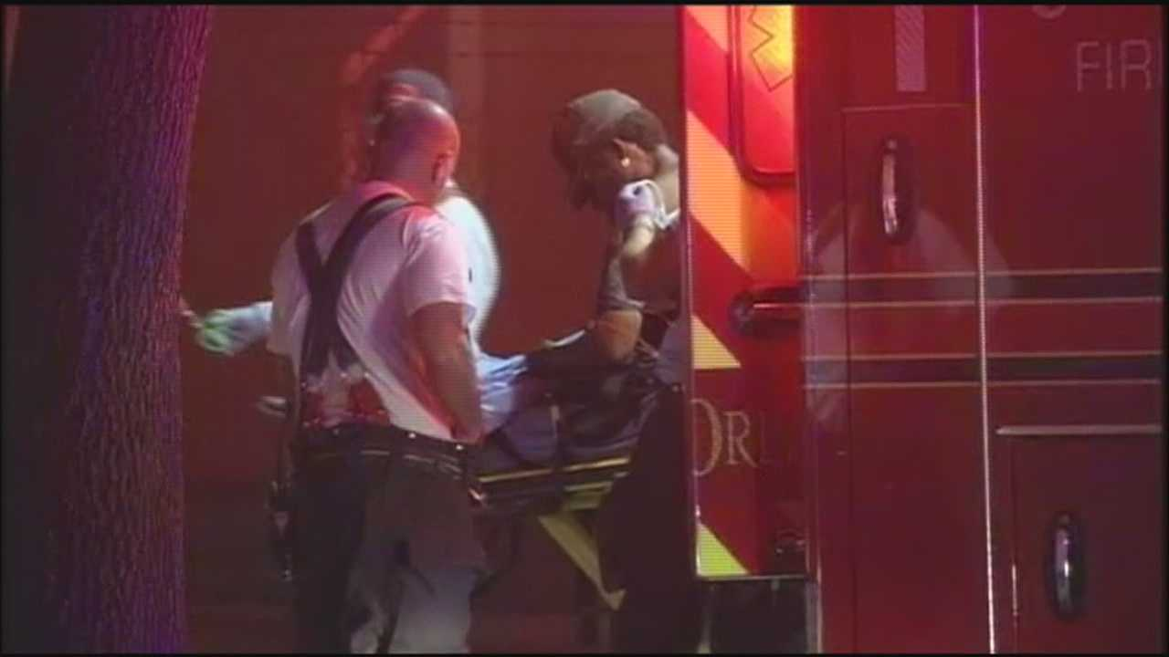 Homeless man shot in neck on way to shelter