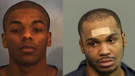 Kevin R. Ford (left) and Charlie Franklin Ford III (right) were arrested in connection with a bank robbery in Altamonte Springs on Friday.